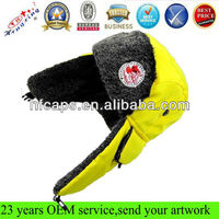 Fashion Avitor Bomber Custom Logo Baby Kid Winter Hat with Ear Flaps