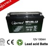 Lead Acid Batteries 12v 150ah For