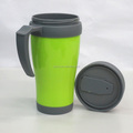2017 New Plastic Double Coffe tube cup japan