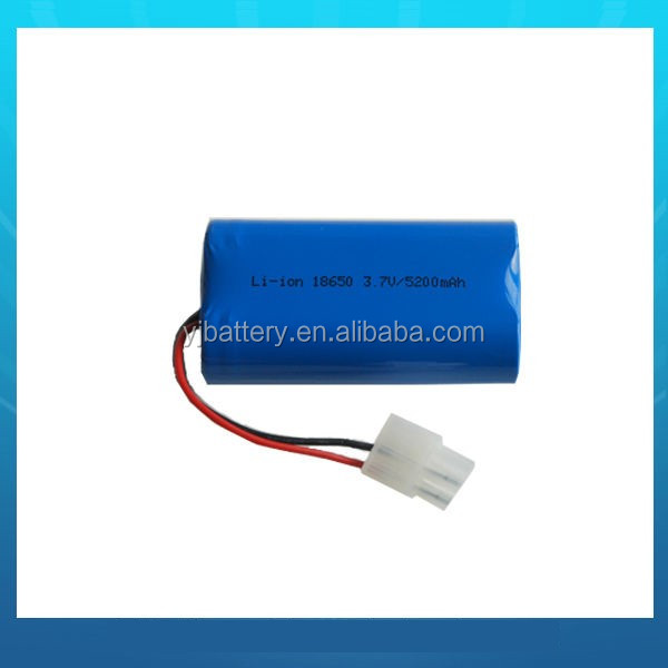 2017 Wholesale high quality rechargeable li ion battery 7.4v pack for toy helicopter led flashlight
