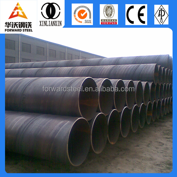 spiral welded 24 inch steel pipe,28 inch carbon steel pipe irrigation