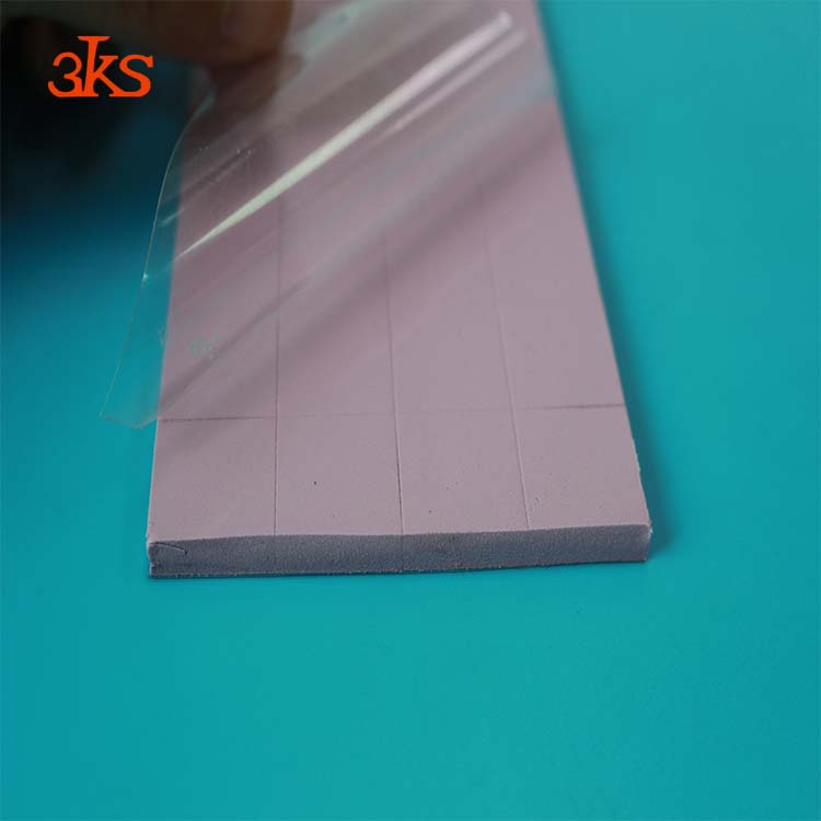 Thermal Transfer Silicone Gap Pad For Heat Assembly For Bergquist Material Replacement Thermal Conductive Pad