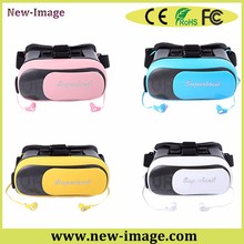 new business projects sales clear lens 100% vision virtual reality 3d vr glasses