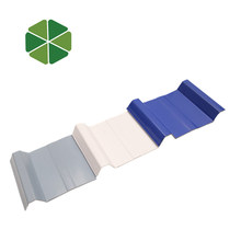 Waterproof Spanish style pvc synthetic resin roof tile