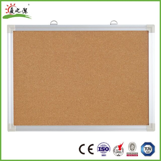 Professional Customized new design good quality office and school aluminium frame notice board bulletin board pin cork board