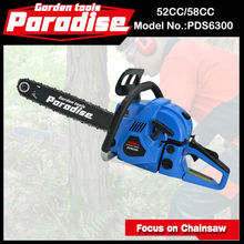 New Gasoline Wholesale Oregon Petrol 52 CC 58CC Chain Saw