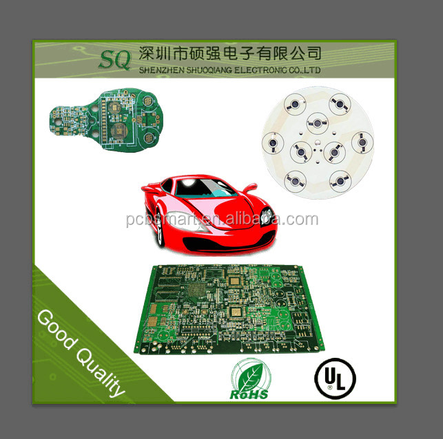 China manufacturer high quality custom made with factory price cem1 pcb rc car pcb large size pcb