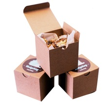 Factory wholesale cardboard box for cupcakes