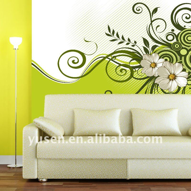 Factory Price Snow pattern Photo quality inkjet printable wallpaper wallcovering