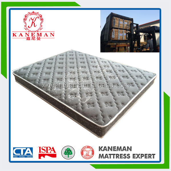 Good sleeping hard spring mattress for bed