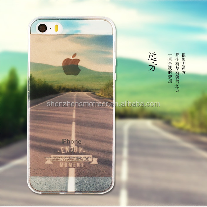 Alibaba china uv printing cell phone case for iphone 6 from own factory