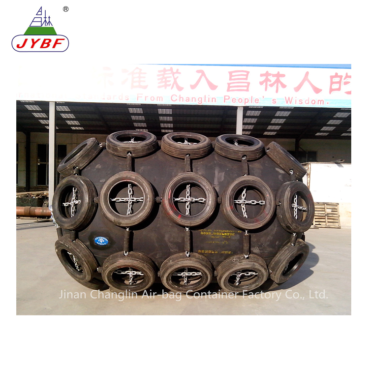 Changlin Black color marine ship pneumatic rubber fender