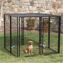 Manufacturer wholesale welded wire mesh large dog cage / dog run kennels/dog run fence panels