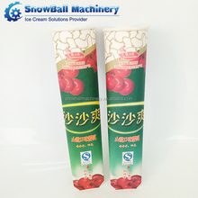 Factory direct sale custom printed ice cream calippo tube paper packaging