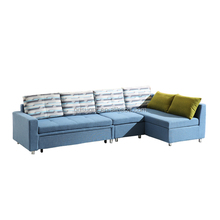 Sectional Sofa Corner Couch Reversible Chaise I Shape Sofa Fabric