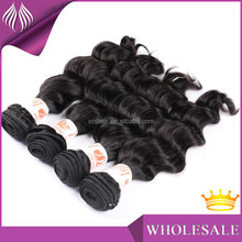 no tangle premium quality cheap factory price 7A indian loose deep