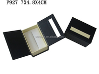 Jewelry Promotion Gift Sale For Paper Double Ring Boxes OEM Christmas Wedding Box P927