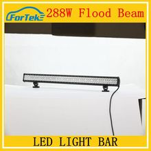 288W led bar light flood beam 36inch car wholesaleoff led working light led bulb light 100%waterproof