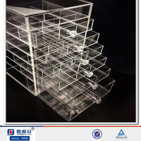acrylic makeup organizer container store makeup cosmetic clear acrylic organiser organizer display w drawers