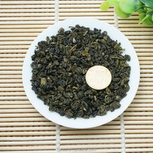 2016 new product Chinese gunpowder snail shape green tea