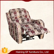fabric cushion foam sofa furniture footrest recliner