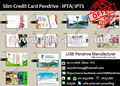 Pendrive price harga in Malaysia Price list USB Wallet Credit Card Pendrive Slim Special Promotion