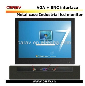 Hot sale CCTV 10 inch LCD Monitor, VGA/AV input, BNC/TV optional