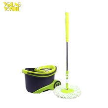brazil cleaner long handle spinning mop and bucket