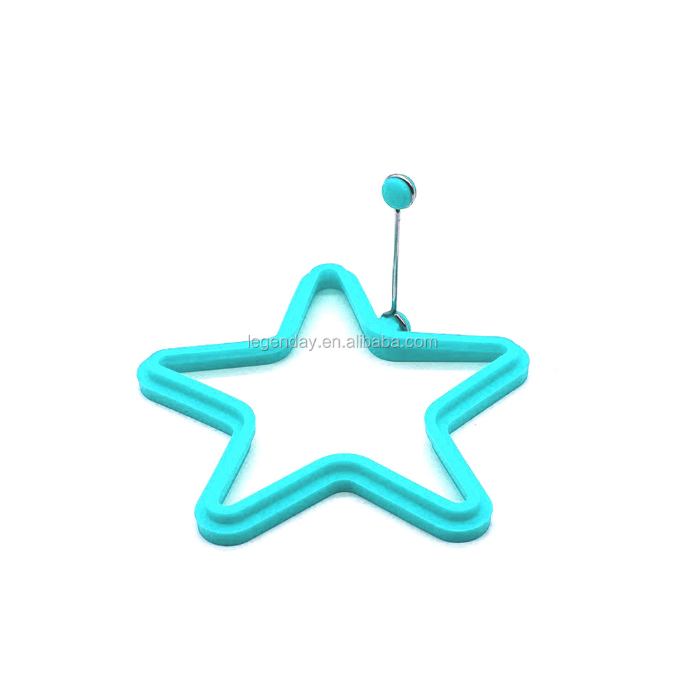 Star Shape Silicone Fried Egg Mold Pancake Molds