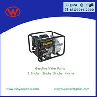 with CE GS ISO 4-stroke 1/1.5/2/3/4 inch gasoline water pumps