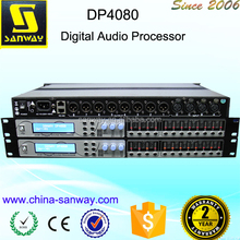 DP4080 Professional DSP Sound Digital Signal Audio Speaker Processor