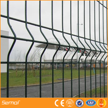 High Quality Curvy Fence / V Crimped Triangle Bending Fence (20 Year's Factory)