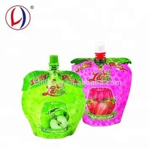 Manufacturer Juice And Jelly Packaging Foil Plastic Drink Carry Bags For Custom Printed