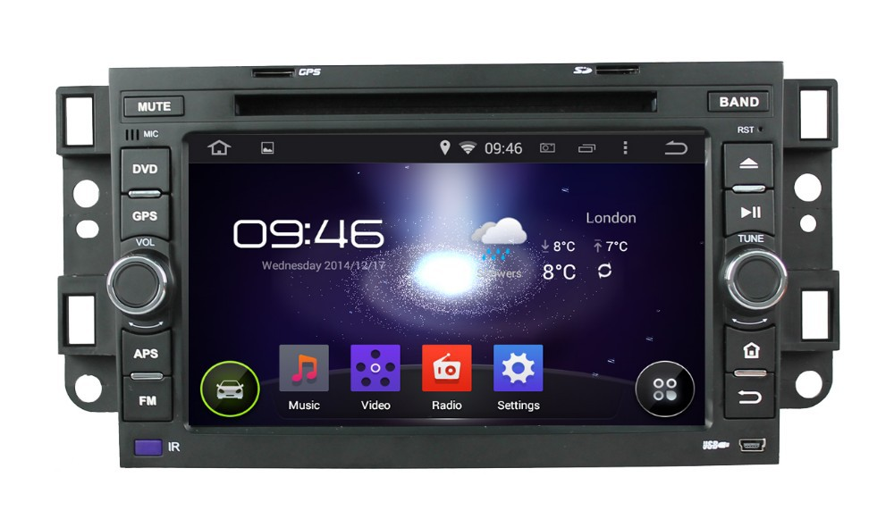 WITSON ANDROID 4.4 AUTO RADIO DVD FOR CHEVROLET EPICA 2006-2011 WITH A8 DUAL CORE CHIPSET DVR SUPPORT WIFI 3G APE