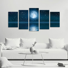 Amazing 3d starry canvas oil painting