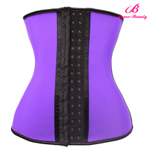 PayPay Accepted 4 Steel Boned Purple Waist Trainer Corset