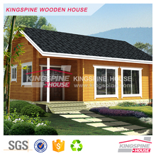 Simple Prefabricated log cabin Small wooden house KPL-098