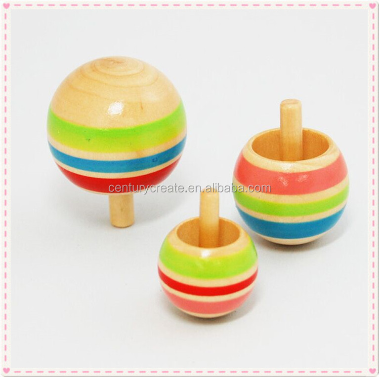 Hot sale small Wooden Peg-top toys