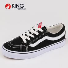 black casual sport school shoes for student