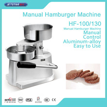 Aluminum-magnesium Alloy Hand Operate Hamburger Patty Maker Machine