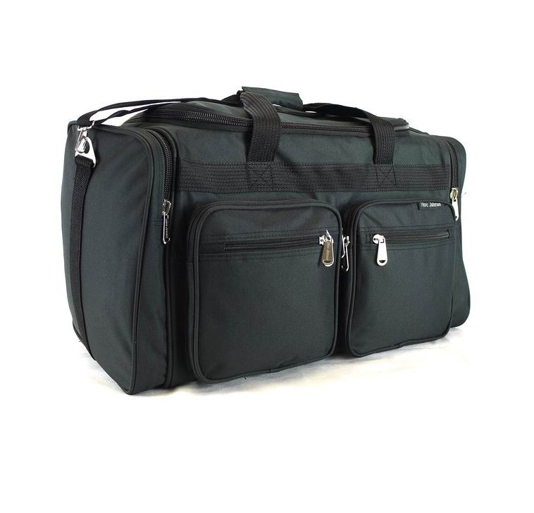 Polyester Premium Deluxe Travel Fitness Sport Gym Weekender Duffle Tote Bag