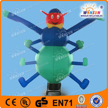 Advertising inflatable sky tube/Waving air dancer,windy man(One leg)