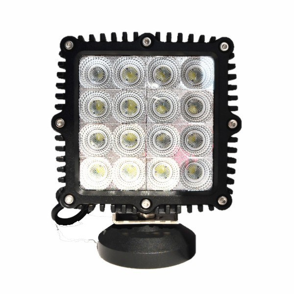 2014 New Spot or flood beam 16pcs*3w Cre leds 12v 24v DC 5040lm IP67 CRE driving led work light 48w