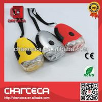Design promotional aaa smiling shark flashlight