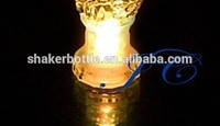 Flower design high round led gifts led flashing cups for New year