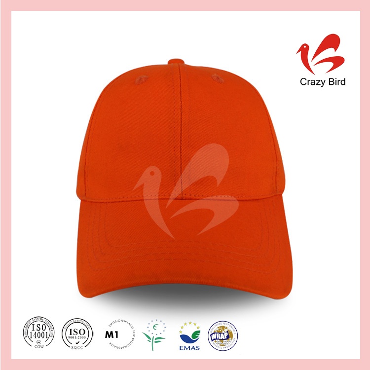 CrazyBird Best Selling Solid Color Cheap Plain Face Caps