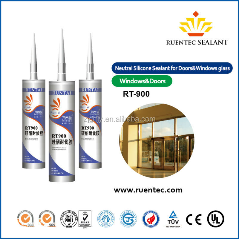 RT-900 Window Glasses Silicone Sealant