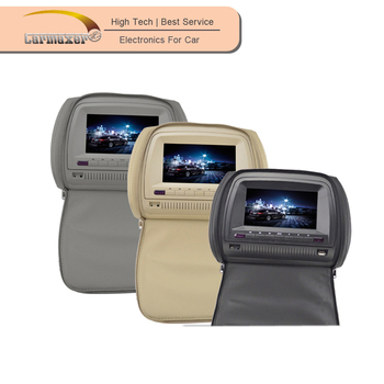 2015 best selling 9 inch/7inch cheap headrest dvd player