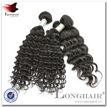 2016 BEST PRICE unproessed malaysian hair curly wefted hair