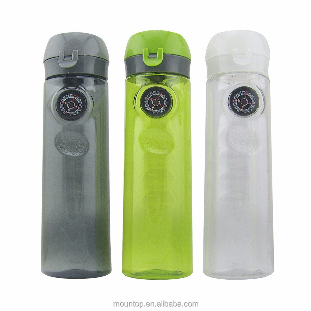 best seller 2016 shenzhen plastic water sports bottles simple drink bottle with spout